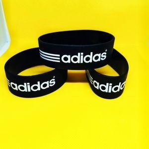 adidas Black & White Bracelet